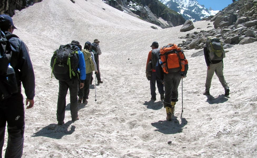 Hamta Valley is simply 15 kilometers from Prini, Manali. Anyway arrives at a noteworthy height of 2700 Meters above ocean level.
